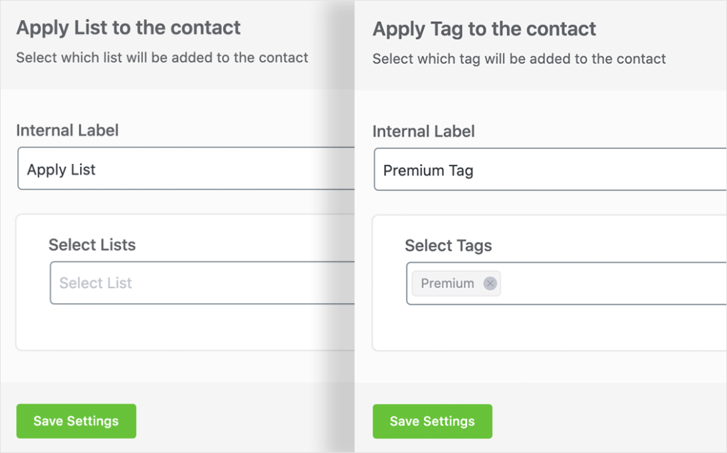 apply lists and tags to members with paid memberships pro and fluentcrm