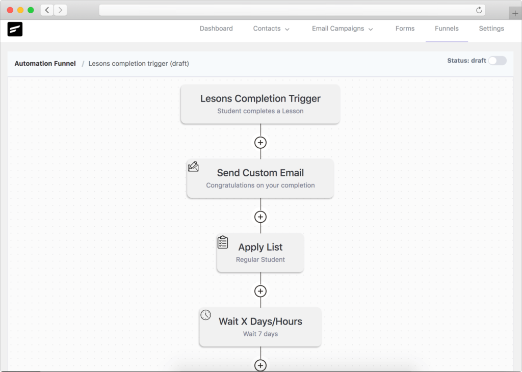 LifterLMS-Lesson-completion-trigger-fluentcrm.png