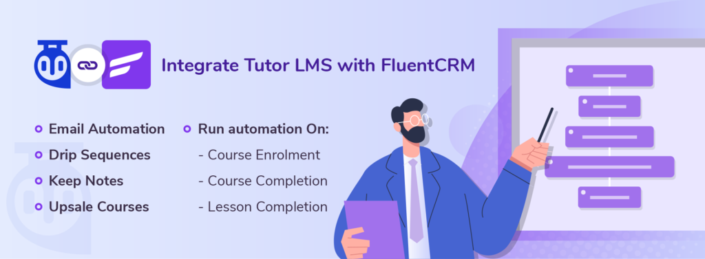 Tutor LMS integration with FluentCRM 1.1.3