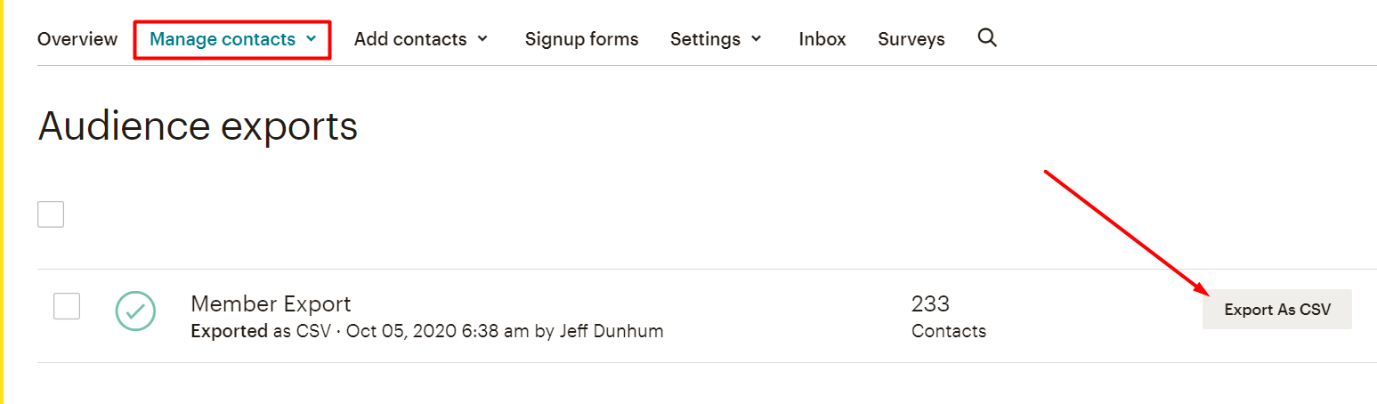 migrating to fluentcrm from mailchimp