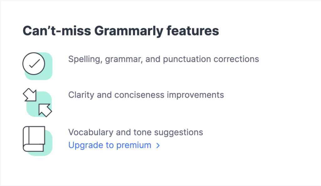 Grammarly email breakdown, welcome email sections, customer retention email, grammarly features