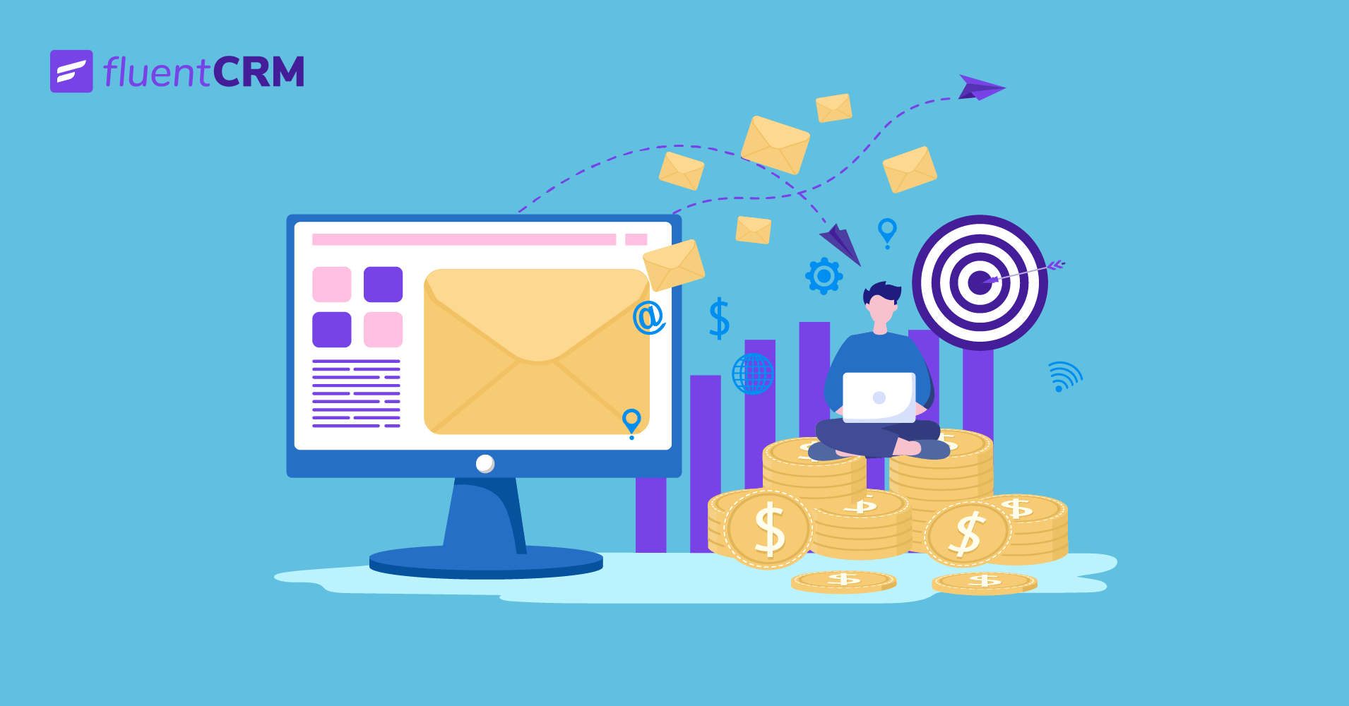 how to set up a marketing email