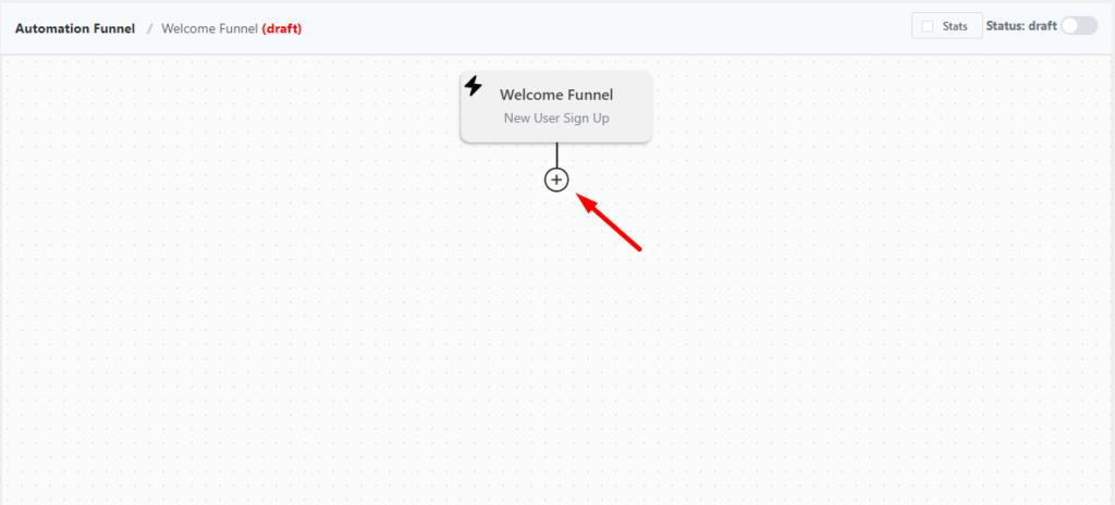 fluentcrm email marketing automation funnel