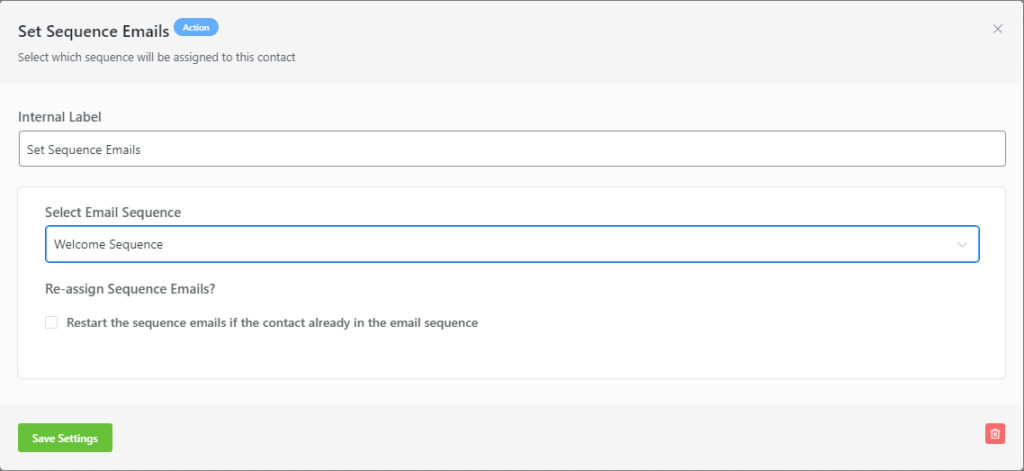 creating a welcome email sequence automation