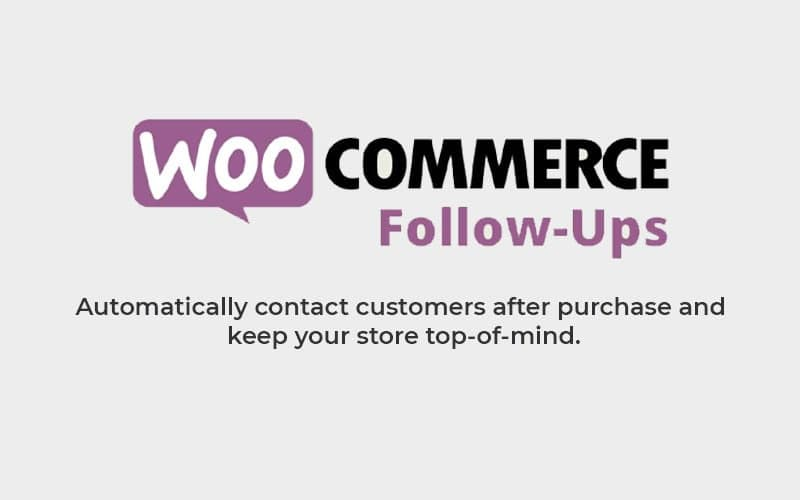 woocommerce follow ups, follow up emails, customize email templates